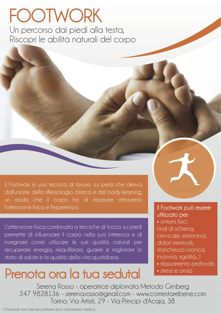 Footwork, oltre la riflessologia